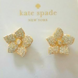 "KATE SPADE ""BLOOMING"" EARRINGS BRAND NWT! $68"